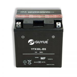 YTX30L-BS </br>VOLT 12</br> CAPACITA' 30AH(10H) </br>DIM.166X130X175</br> ERMETICA/AGM